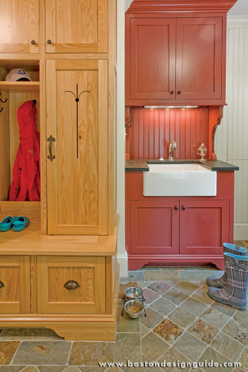 Mudroom custom cabinetry