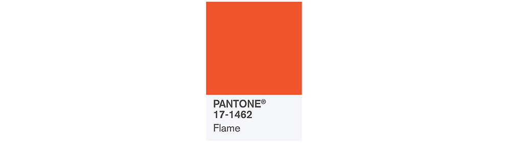 PANTONE Spring 2017 Fashion Color Report, Flame