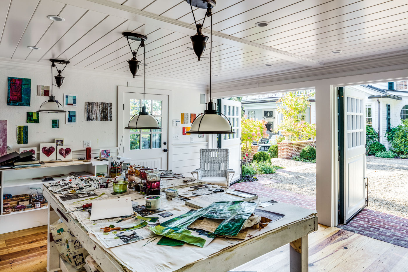 Carriage House Art Studio by Patrick Ahearn Architect