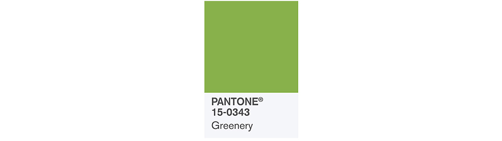 PANTONE Spring 2017 Fashion Color Report, Greenery