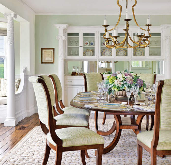 Cape Cod dining room design