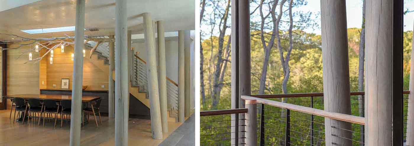 Architecture rooted in nature by Jill Neubauer Architects with landscape architecture by Bernice Wahler Landscapes