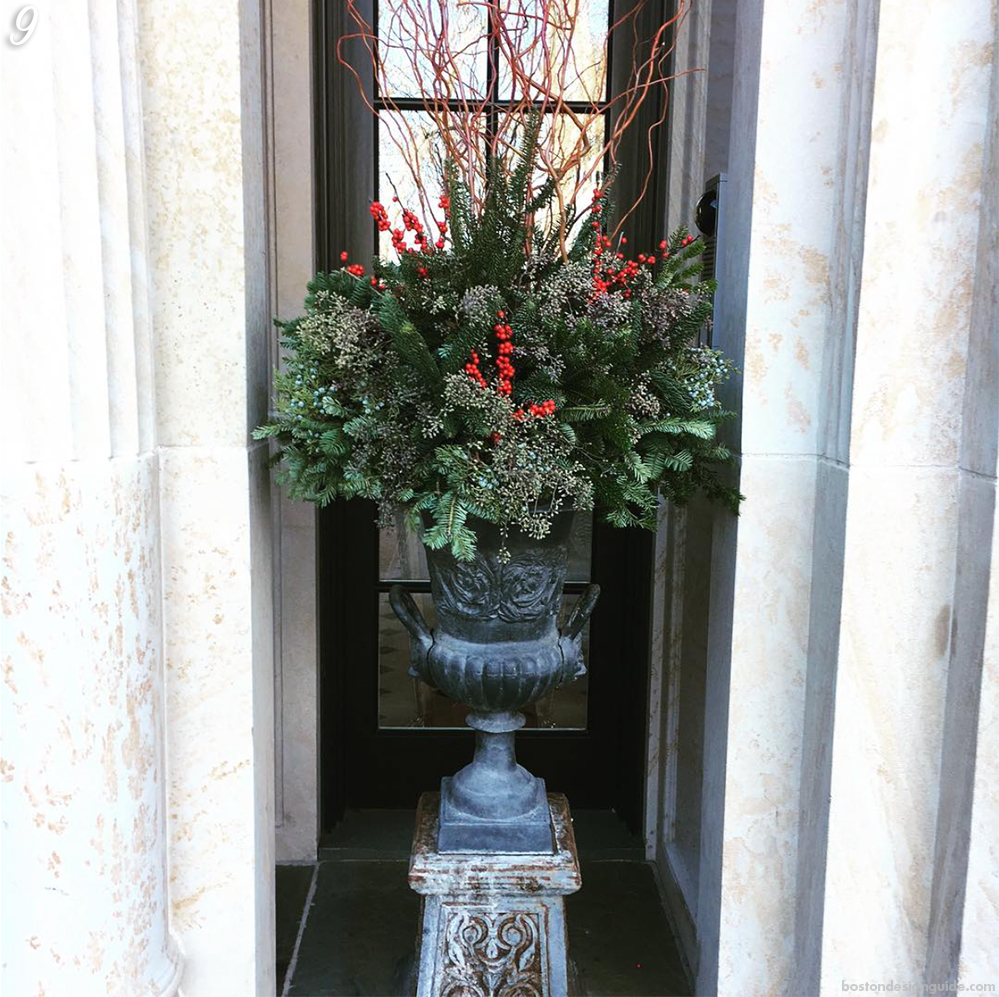 Home Planter Holiday Decor