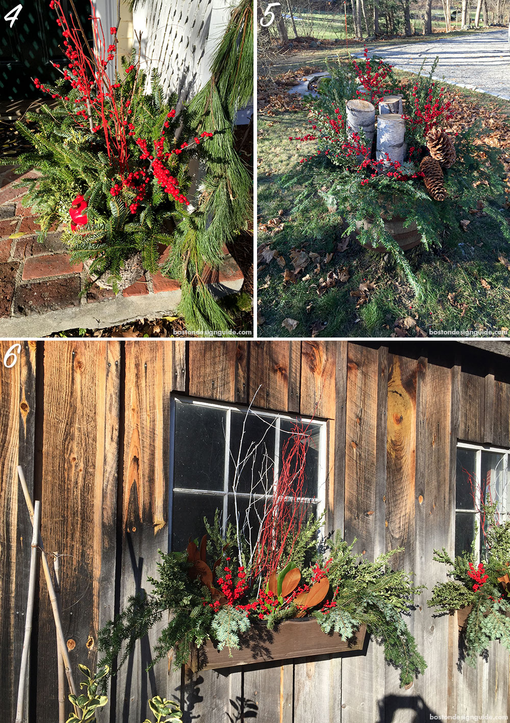 Holiday Planter Home Decor