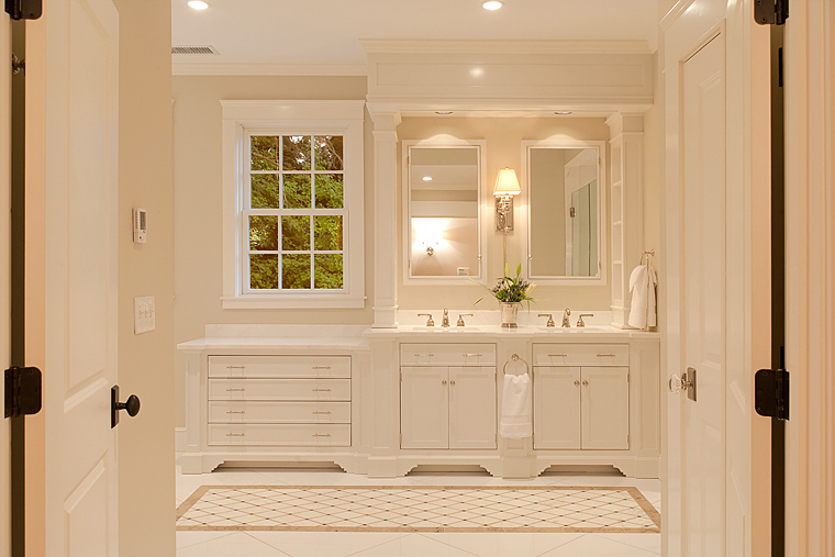 Hope beckman design architectural details renovation for Bathroom vanities massachusetts