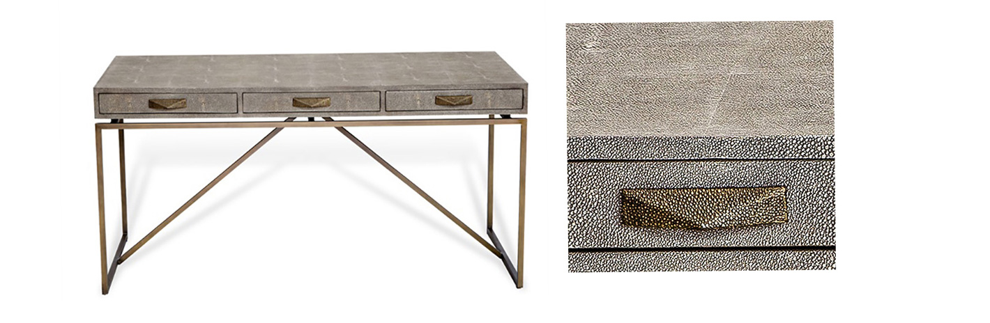 High-end shagreen furniture in Boston