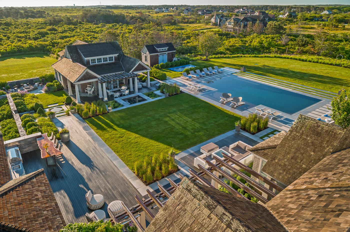 Nantucket Outdoor Landscape Program by Gregory Lombardi Design