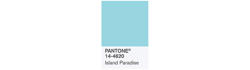 PANTONE Spring 2017 Fashion Color Report, Island Paradise
