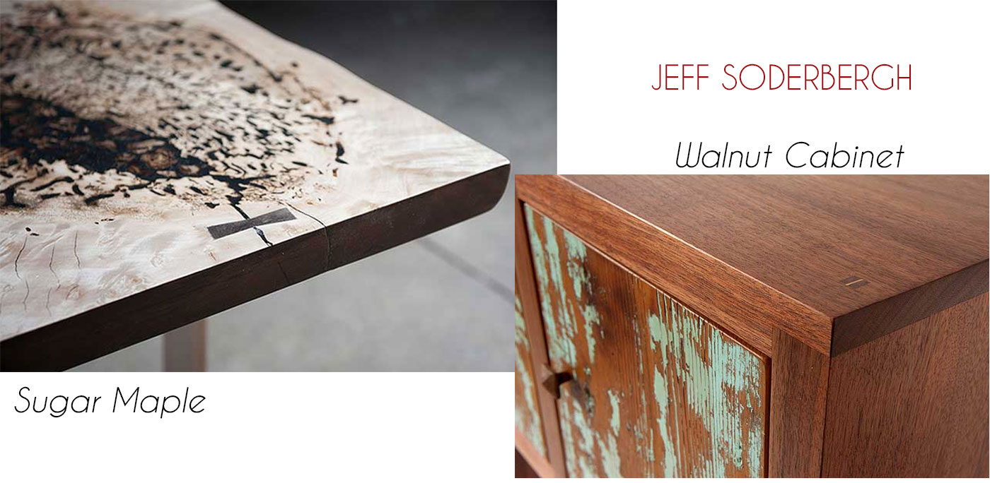 Hand-crafted sustainable furnishings by Jeff Soderbergh