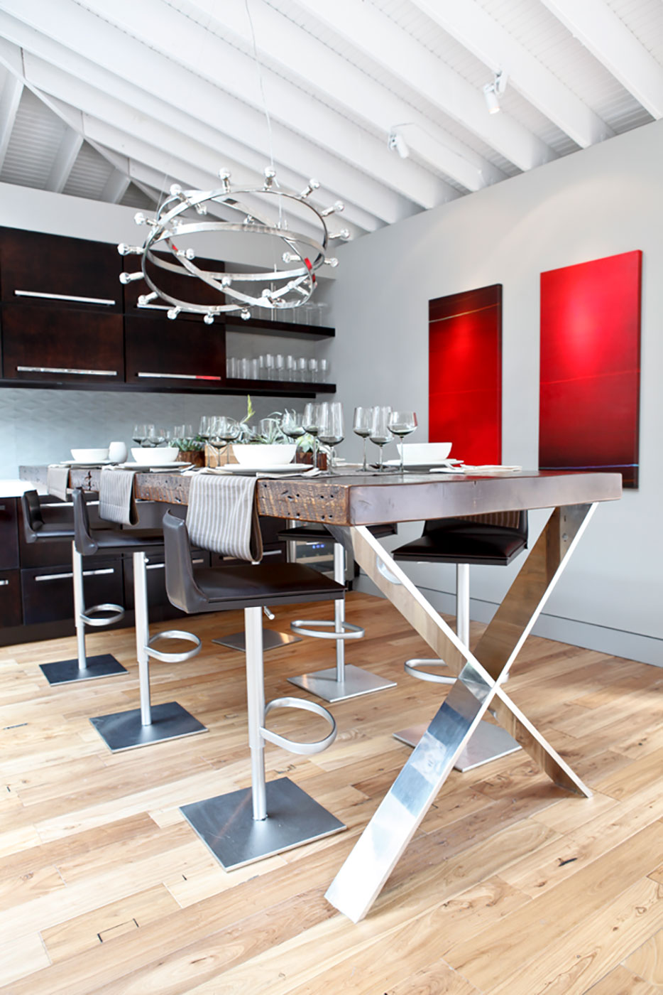 Sustainable Custom Table by Jeff Soderbergh