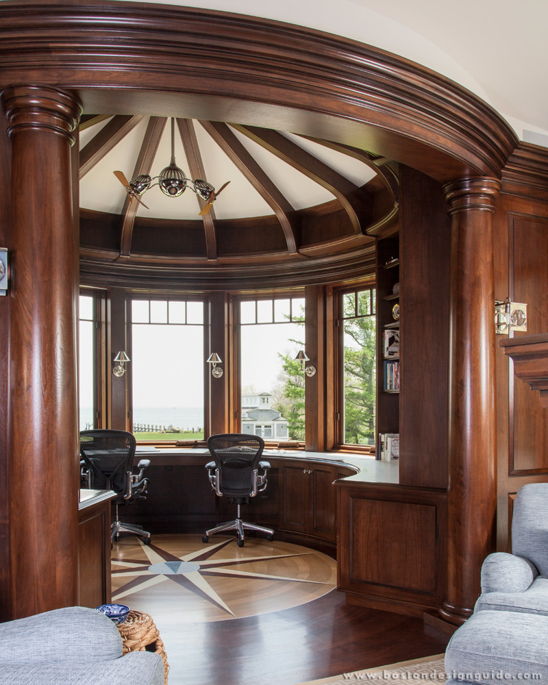 A grand circular office you need to see boston design guide for Office design guide