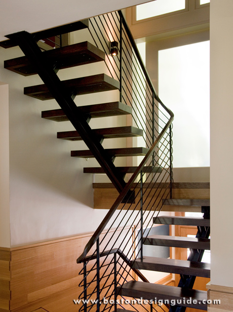 Stunning contemporary staircases by lda architecture for Free floating stairs