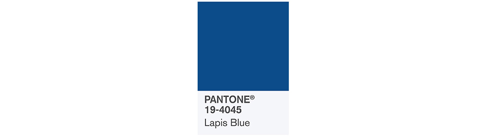 PANTONE Spring 2017 Fashion Color Report, Lapis Blue
