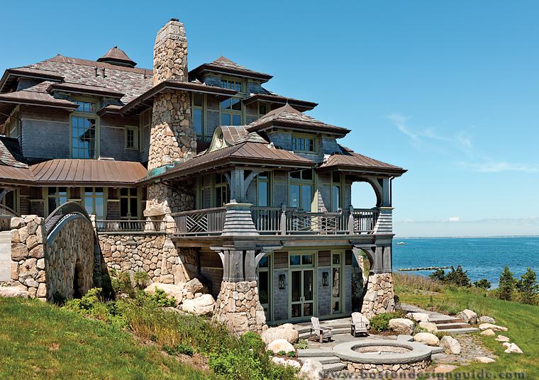 Lars v olson fine home building inc for Beach houses on the east coast