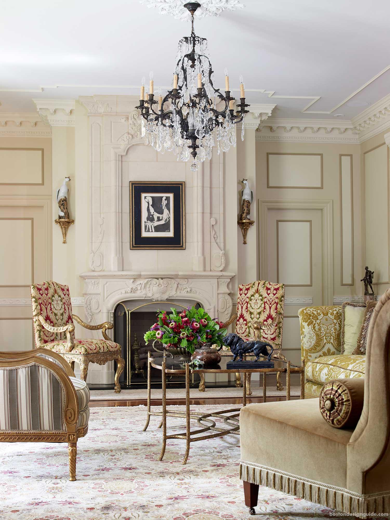 classic interior design chandeliers