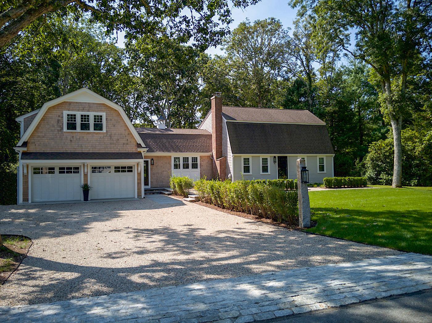 Cape Cod home renovation by Longfellow Design Build