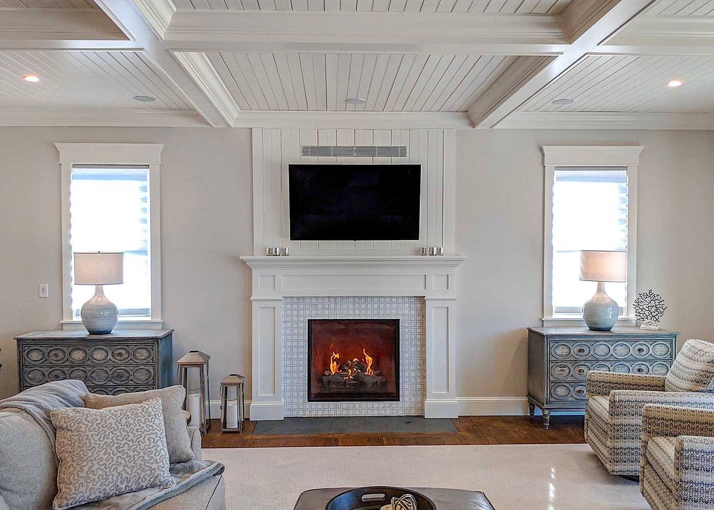 Home renovation by Longfellow Design Build of Cape Cod