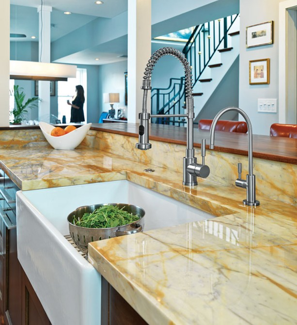 Earth Tone Kitchen Colors: Au Naturel: Organic Stones In Accessories And The Home