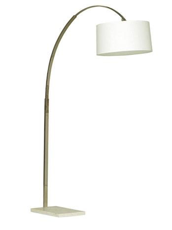 Trending arc floor lamps boston design guide for Mitchell gold arc floor lamp