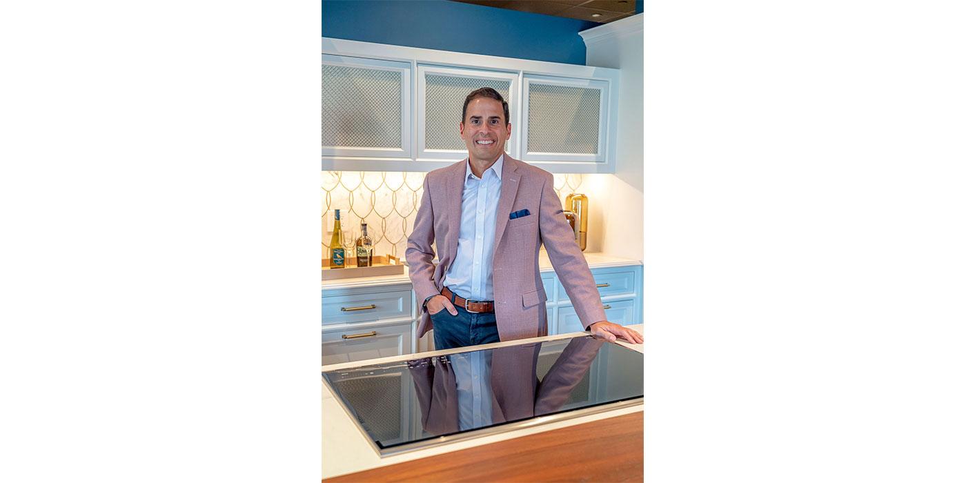 Certified Master Kitchen and Bath Designer Mark Haddad of Interiology Design Studio Co.