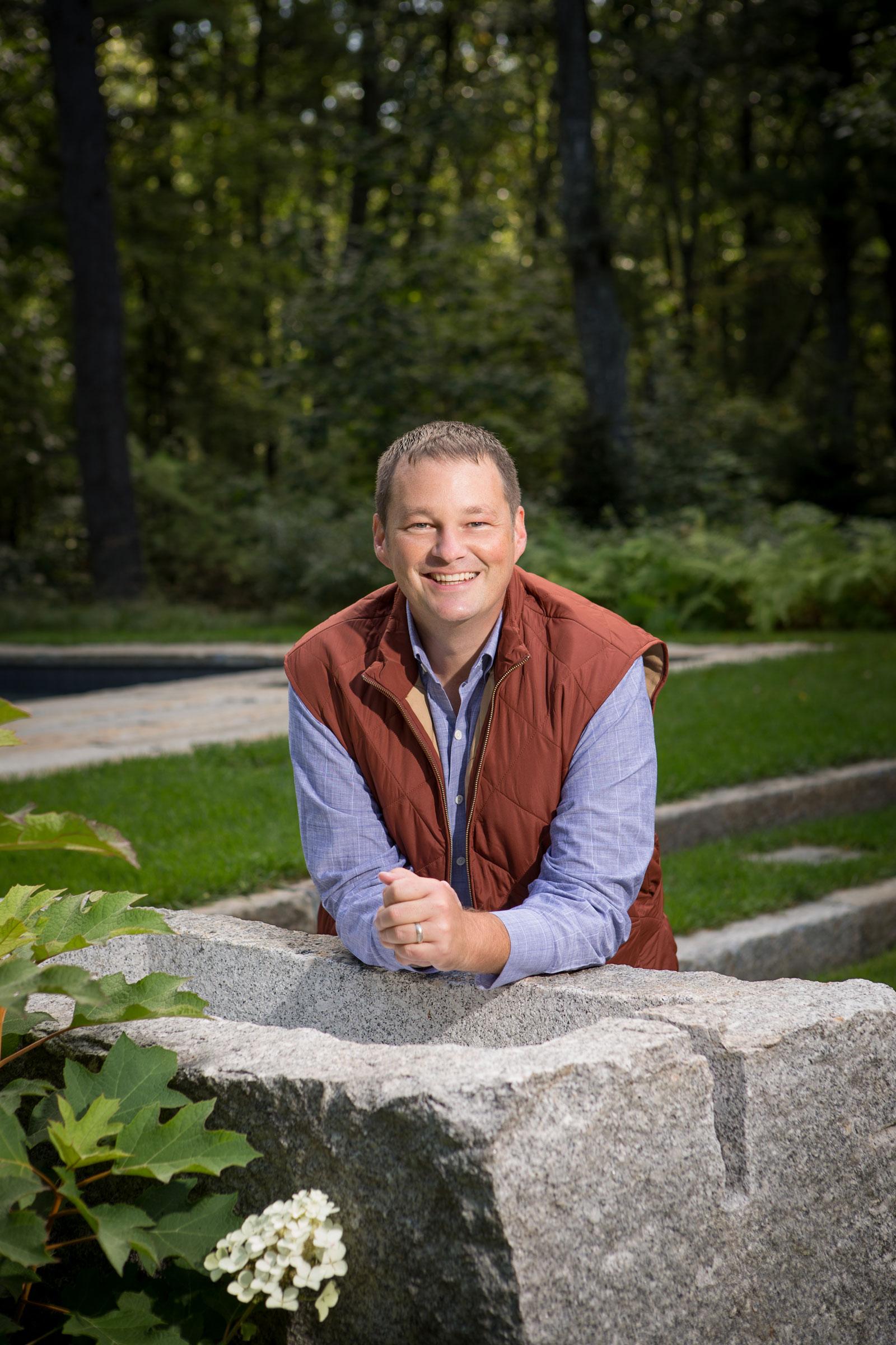 Landscape designer Matthew Cunningham's high-end private garden