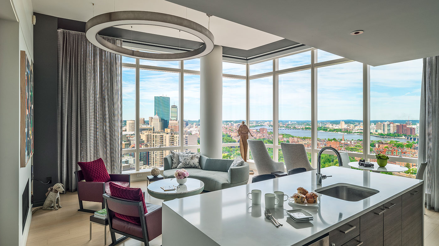 Downtown Crossing high-rise residence by Merz Construction