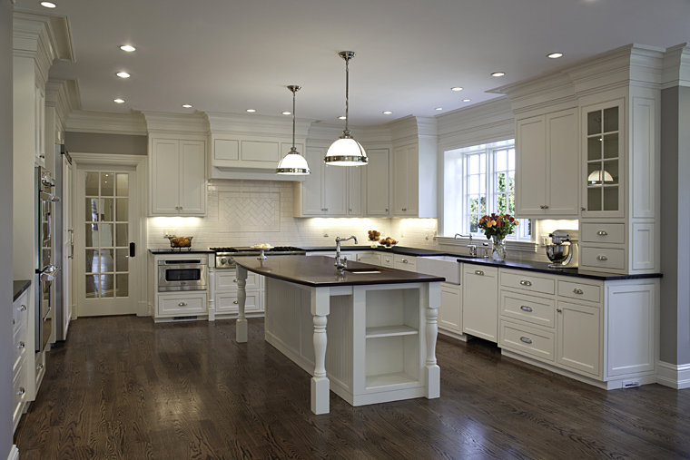Allwhite Kitchens And Baths Bring An Element Of Simplicity To Fair Design New Kitchen Inspiration