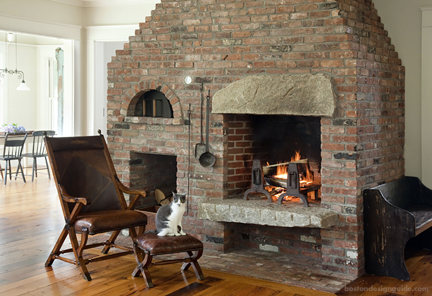 Wonderful Fireplaces In The Dining Room For Cozy And Warm: January Warm-Up: 6 Cozy Fireplaces