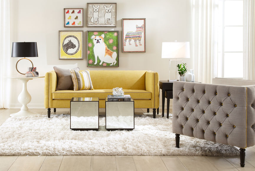 Modern, Yellow Furniture | Boston Design Guide