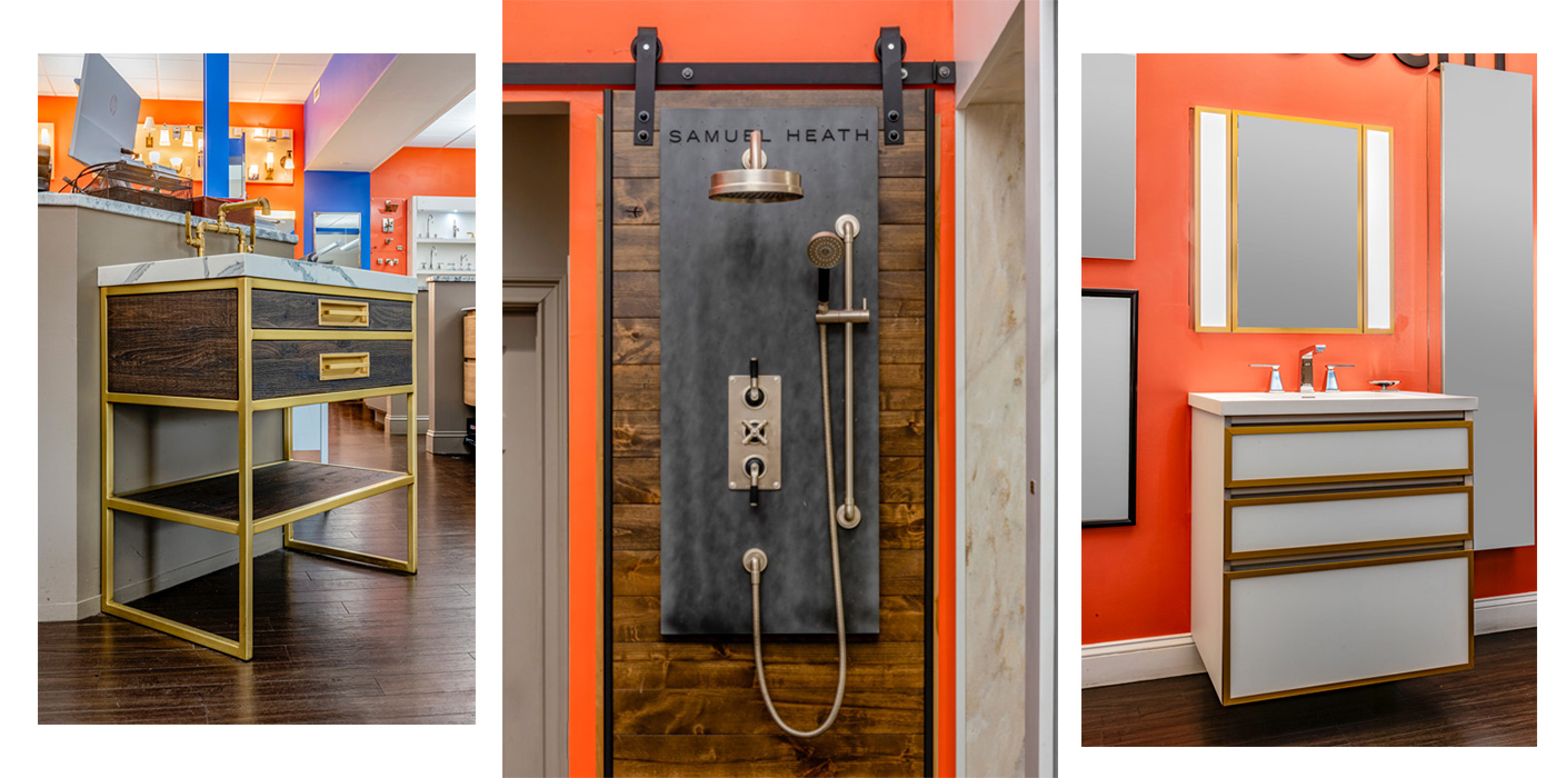The latest bathroom design trends at Monique's Bath Showroom