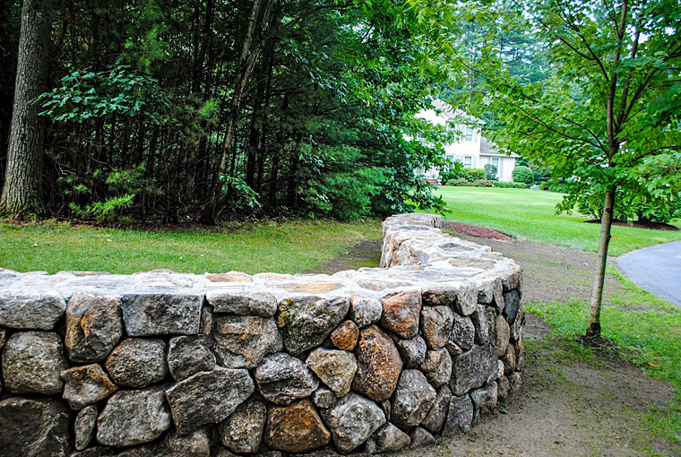 Natural Stone Wall Solutions View Gallery