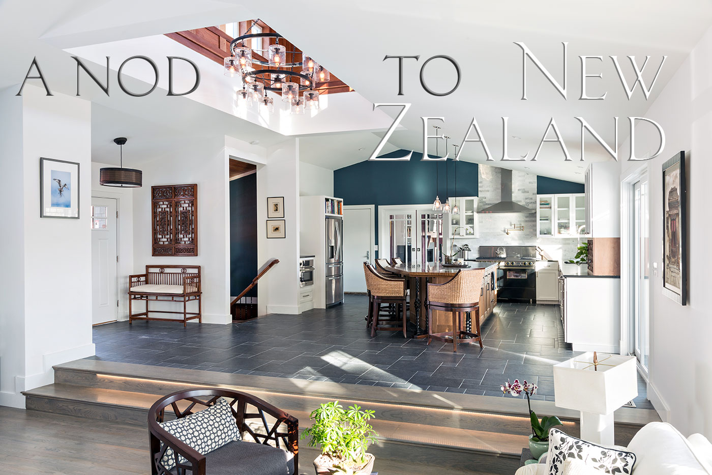 Home design inspired by New Zealand's Huka Lodge by Thomas J. O'Neill, Inc.