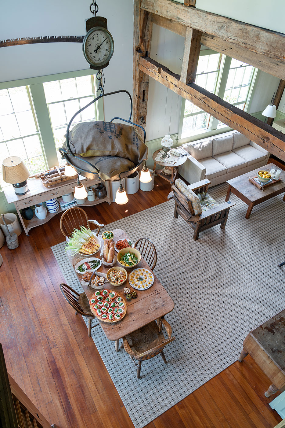 New uses for antiques by interior Designer Michael Carter of Carter & Company