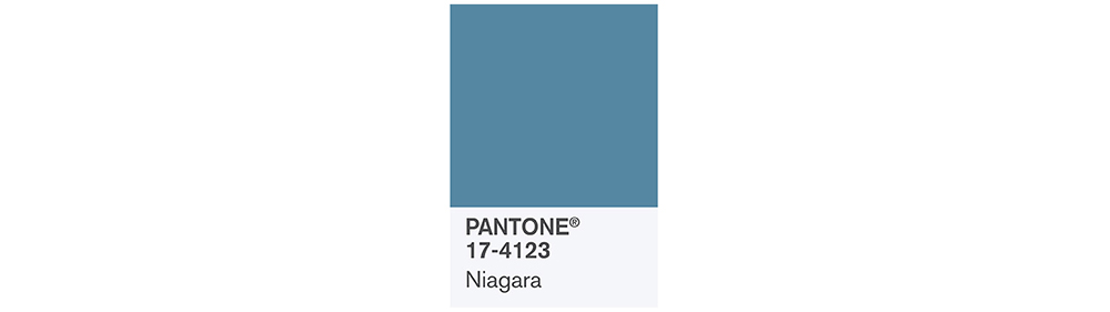 PANTONE Spring 2017 Fashion Color Report, Niagara