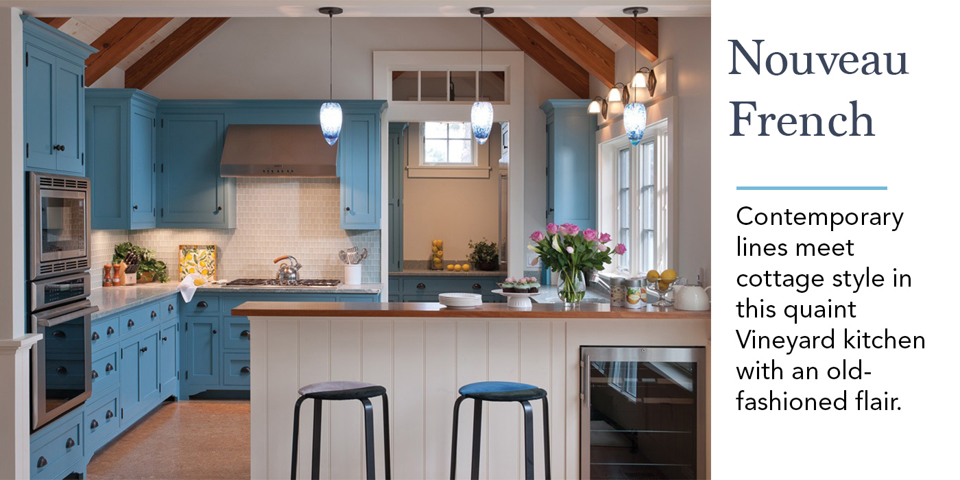 Coastal Kitchen, French-Inspired
