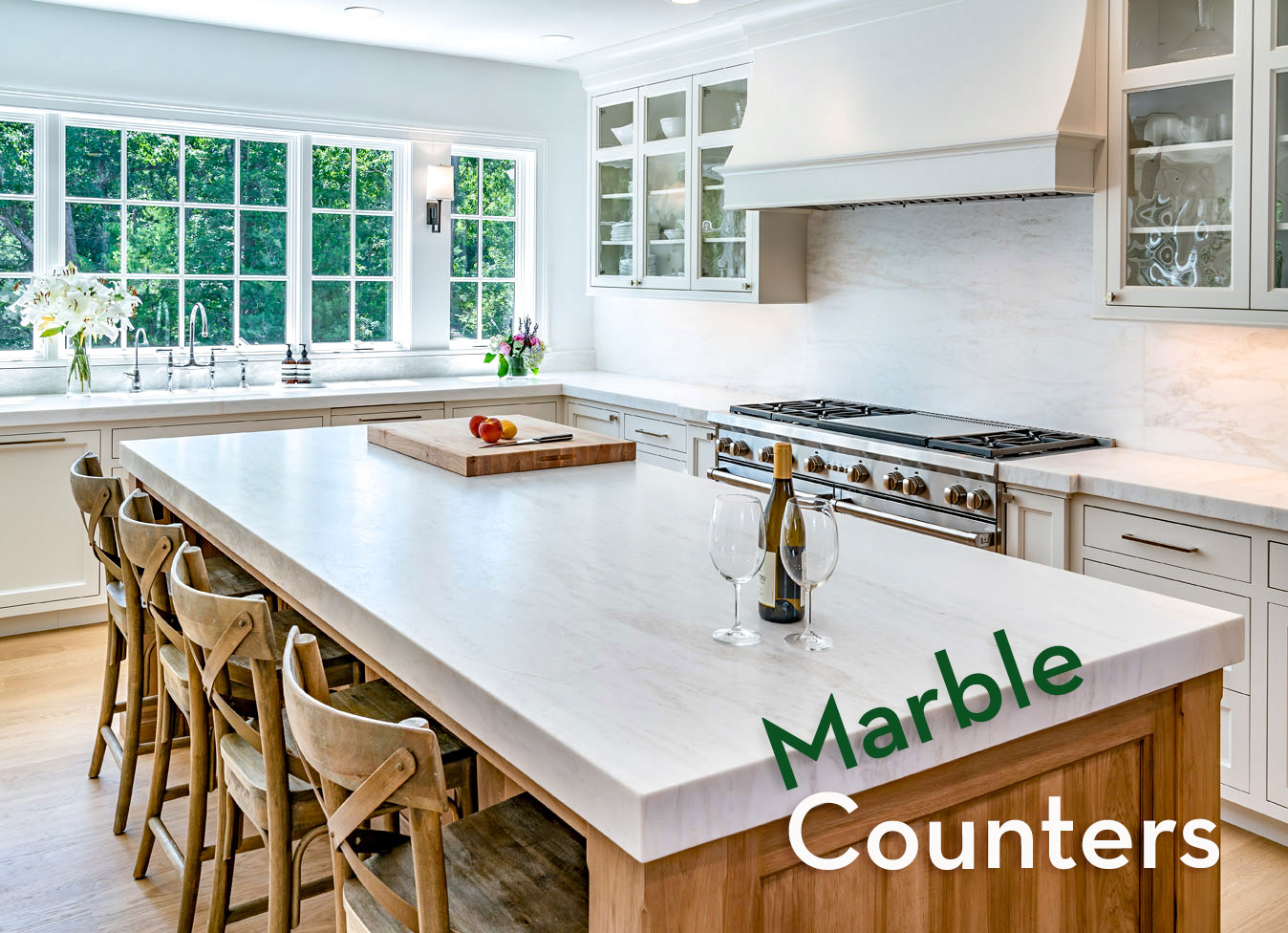 White Rhino Marble counter applications by Onyx Marble and Granite