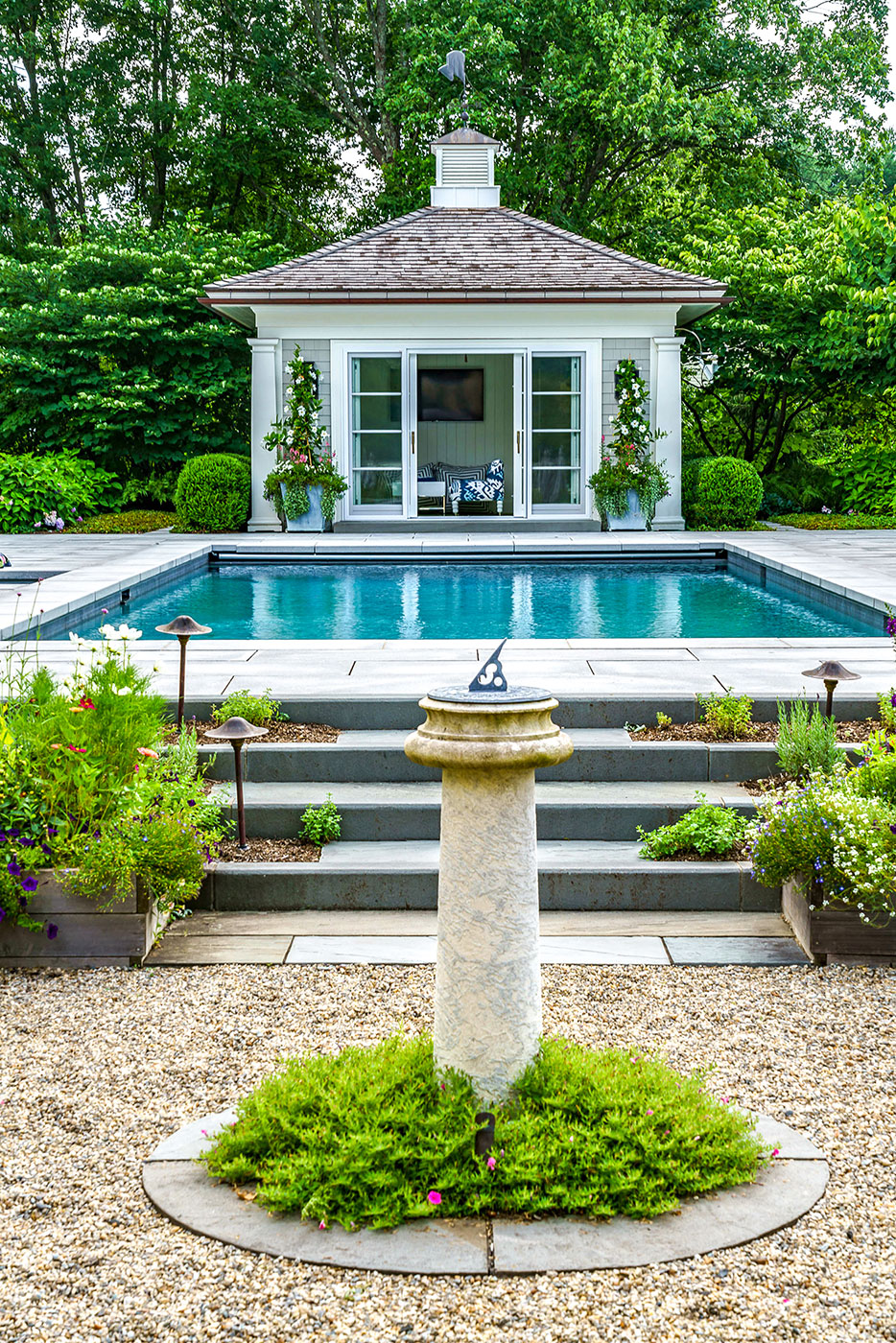 Outdoor Pool and Backyard Oasis by Onyx Corporation