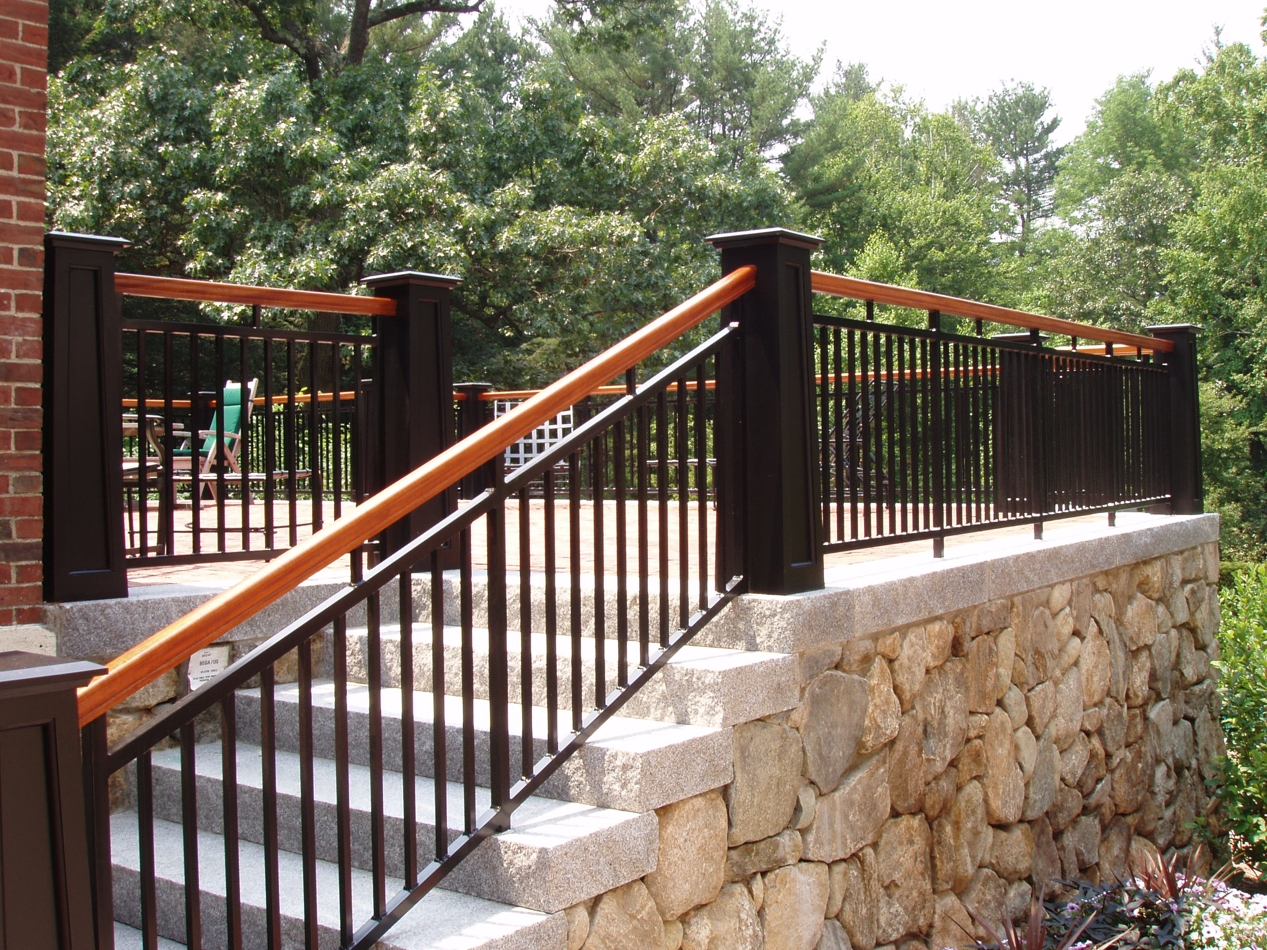 Stairway & Deck Railings by Perfection Fence