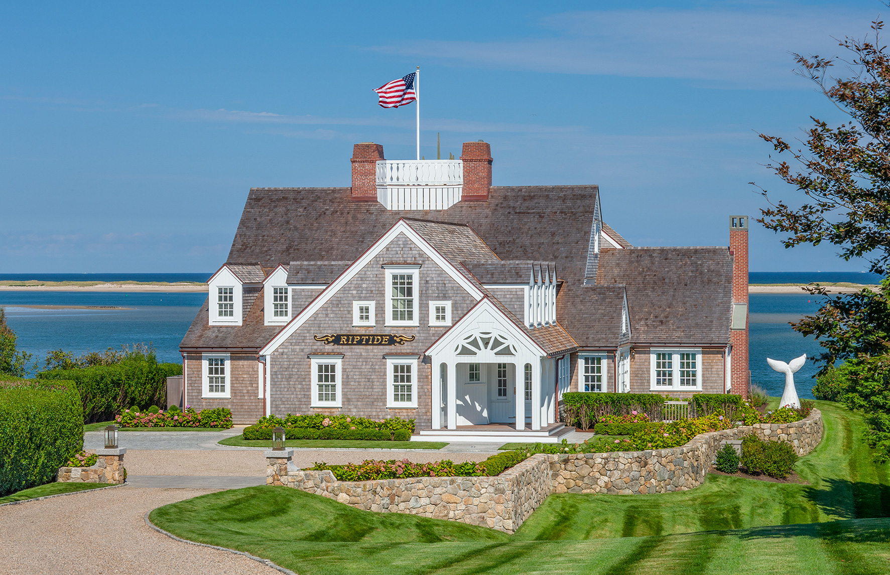 Custom Cape Cod home renovation by Polhemus Savery DaSilva Architects Builders