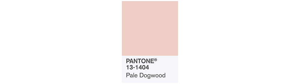 PANTONE Spring 2017 Fashion Color Report, Pale Dogwood