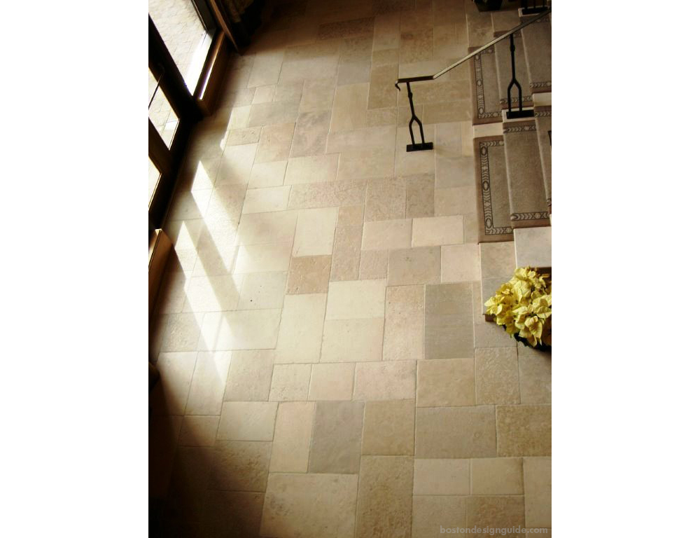 Natural stone and tile flooring