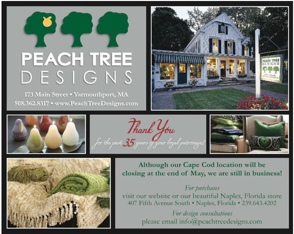 peach tree designs cape cod location is closing boston
