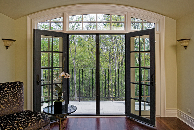 Phantom screens for Retractable double screen door