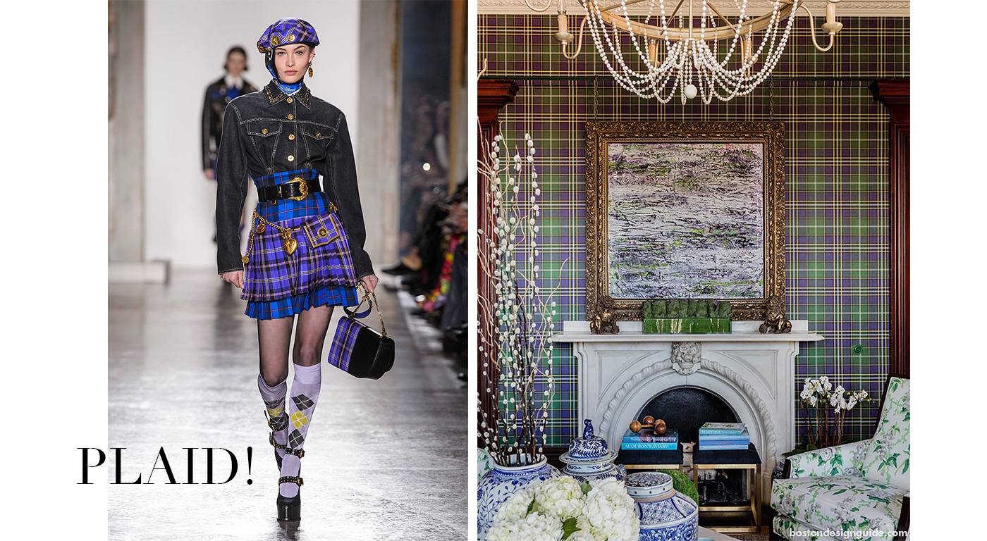 Fall Fashions in the Home, Plaid