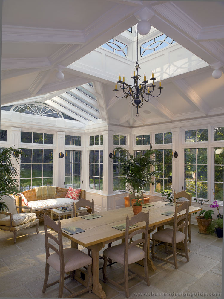Skylight conservatories in New England