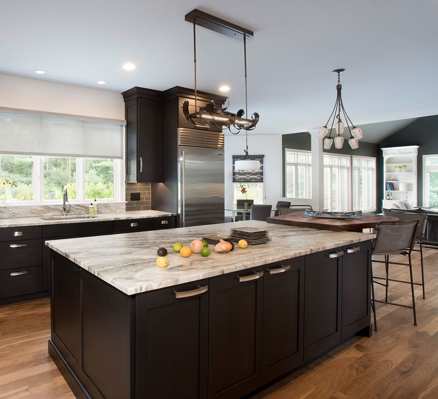 Roomscapes Cabinetry & Design Center contemporary kitchen transformation