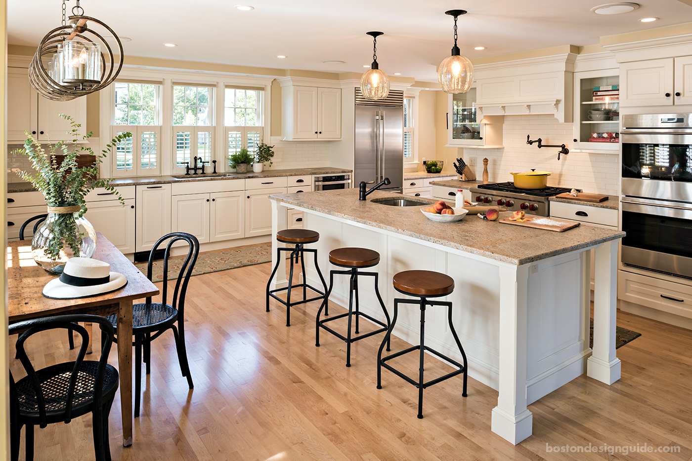 A Historic Hingham Home Gets A Kitchen Makeover Boston Design Guide