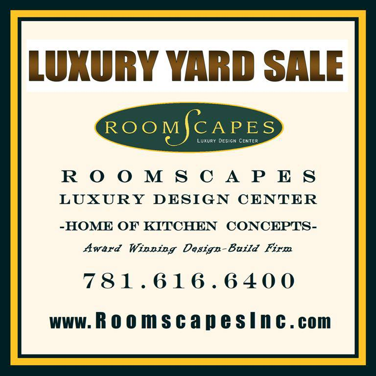Roomscapes Luxury Design Center Hosts Warehouse Spring Yard Sale Boston Design Guide