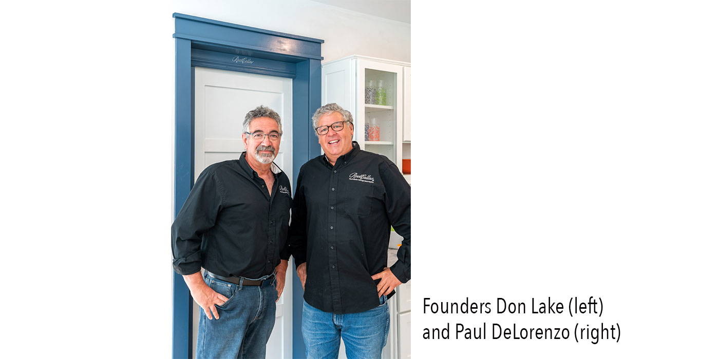 Owners Don Lake and Paul DeLorenzo of RootCellar Concepts