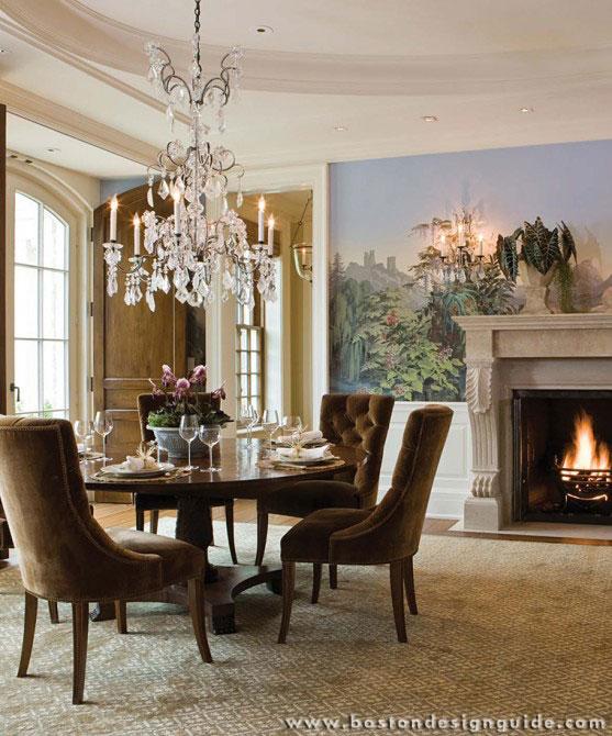 Elegant dinner table design